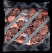 España 2001. Bolsa De 200 Monedas De 2 Centimos De Euro. Sin Circular. FNMT. - España