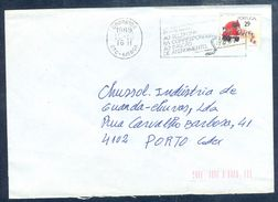 G180- Postal Used Cover. Posted From Portugal. Post Man. Transports. - Portugal