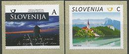 SI 2017-13 Definitive, SLOVENIA, 1 X 2v, MNH - Slovénie