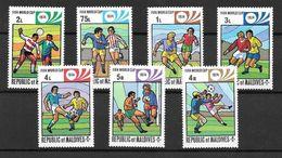 Maldives Série Complète CM 74 - Coppa Del Mondo