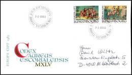 (E2227)  Luxembourg - FDC - Europa CEPT 1983 - Europa-CEPT
