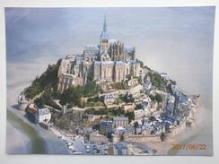 Postcard Le Mont Saint Michel Aerial View My Ref B21386 - Le Mont Saint Michel