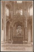 Altar, Peterborough Cathedral, Northamptonshire, C.1930 - RP Postcard - Northamptonshire