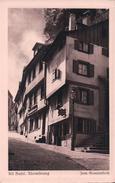 Alt Basel, Rheinsprung, Phot. Hoffmann (9237) - BS Bâle-Ville