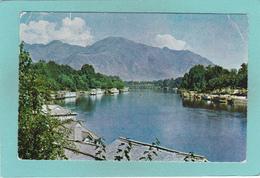 Old Postcard Of Jhelum River, Baramullah, Kashmir, India,Y29. - India