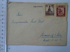 D151205 Poland Polska  Cover - Rychbach -Schweidnitz - Lettres & Documents