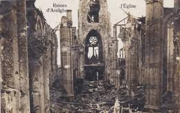 Ruines D'Avelghem, Avelgem, L'Eglise, Fotokaart (pk36853) - Avelgem
