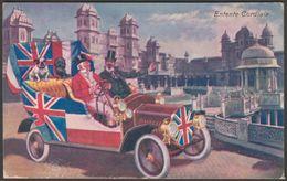Entente Cordiale, Franco-British Exhibition, 1908 - Valentine's Postcard - Exhibitions