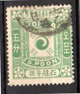 1895 5 Poon Green Michel 3 II  VF Used (165) - Korea (...-1945)