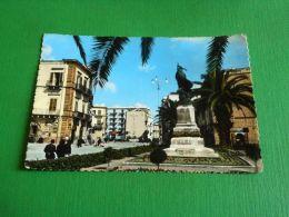 Cartolina Terlizzi - Villa Con Monumento Ai Caduti 1966 - Bari