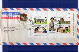 POSTAL HISTORY 4-4-1974 Kensington Airmail Cover To Italy - Lettres & Documents