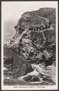 King Arthur's Castle, Tintagel, Cornwall C.1950s - Youlton RP Postcard - Other