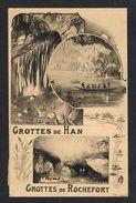 ) OUDE POSTKAART  ROCHEFORT  GROTTES DE HAN  1923 - Rochefort