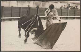 Manuel Dos Santos, Torero à La Corrida, Arles, C.1950s - George Photo CPSM - Corrida