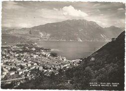 Y3992 Riva Del Garda (Trento) - Panorama Col Lago Di Garda Verso Il Monte Baldo / Viaggiata 1955 - Other Cities