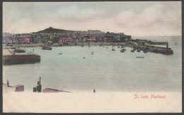 St Ives Harbour, Cornwall, C.1903 - Stengel U/B Postcard - St.Ives
