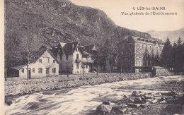 Lès Les Bains (31) - Vue Générale De L'Etablissement - France