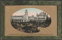 Palace Of Music, Imperial International Exhibition, 1909 - Valentine's Postcard - Exhibitions