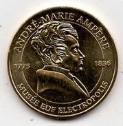 Mulhouse - 68 : Musée Electropolis, André-Marie Ampère (Monnaie De Paris, 2015) - Monnaie De Paris