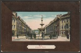 Pulteney Street, Bath, Somerset, 1908 - Milton Artlette-Glazette Postcard - Bath