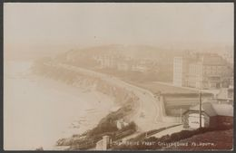 The Marine Front, Gyllyngdune, Falmouth, Cornwall, C.1905-10 - RP Postcard - Falmouth