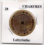 Chartres - 28 : Labyrinthe (Souvenirs Et Patrimoine) - Touristiques