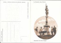 MONUMENTO SUL COLLE DI DOGALI -  CPA EDITORE STAB. PEZZINI ANNO 1936 RARISIME UNIQUE EN DELCAMPE TOP COLLECTION TBE - Eritrea