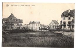 BELGIQUE - LA PANNE Villas Dans Les Dunes, Tennis - De Panne