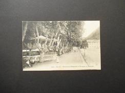 DIGNE.- BOULEVARD GASSENDI ET KIOSQUE A MUSIQUE 1910 - Digne