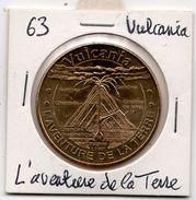 Vulcania - 63 : L'aventure De La Terre (Monnaie De Paris, 2013) - Monnaie De Paris