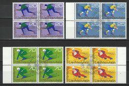 SBK 572-75, Mi 635-38 Viererblock O ET - Used Stamps