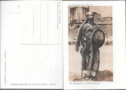 RAS MANGASCIA IN GRANDE UNIFORME CPA ORIGINAL EIRETRE TOP CARTE TOP COLLECTION  UNIQUE EN DELCAMPE TBE - Eritrea