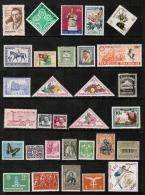 WORLDWIDE---Collection Of MINT Light Hinged/Hinged DL-352 - Collections (without Album)