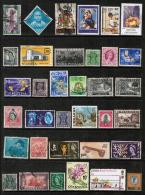 BRITISH COMMONWEALTH---Collection Of USED DL-356 - Collections (without Album)