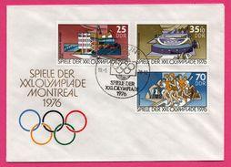 J.O. - Spiele Der XXI Olympiade -  Montreal - 1976 - Berlin - 25 + 35 + 70 DDR - Estate 1976: Montreal