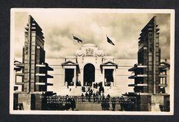 ) OUDE POSTKAART ANTWERPEN  WERELDTENTOONSTELLING  1930 INGANG BRITSCH PAVILJOEN - Antwerpen