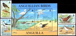 ANGUILLA 2001 Birds, Ducks, Gulls, Fauna MNH - Anguilla (1968-...)