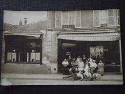 RESTAURANT - MAISON BLANGILLE - Carte-photo - Lieu à Situer - Vers 1910 - Animée - Non Voyagée - Restaurants
