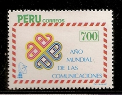 PEROU NEUF SANS TRACE DE CHARNIERE - Peru