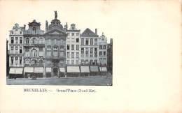 Belgique - Bruxelles - Grand'Place, Nord-Est - Squares