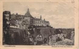 Luxembourg - Rempart Et Pont Du Château - Luxembourg - Ville