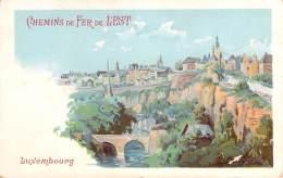 Luxembourg - Chemins De Fer De L'Est (Alési) - Luxembourg - Ville