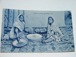 C.P.A. - Inde -  Indian Women Grinding Corn - 1911 - TTB (B77) - Inde