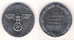 ★★ RARE GERMAN  WAR- MEDAL- BADGE, Diameter (4,1 Cm ) **44 Gr. HEAVY - Allemagne
