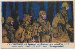 CPSM Franchise Militaire écrite Guerre 9 X 14 Publicité Publicitaire BYRRH Voir Scan Du Dos CHARLET - War 1939-45