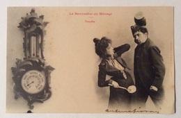HUMOUR LE BAROMETRE DU MÉNAGE - TEMPÉTE VIAGGIATA FP - Humor
