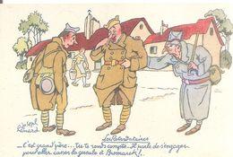 Les Retardataires Par Joseph Henard  . Offert Par BYRRH . - Humoristiques