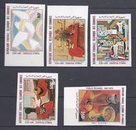 République Federale Islamique Des Comores - 100 ème Anniversaire De Pablo Picasso - Série - Comores (1975-...)