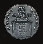 ★★ RARE GERMAN  WAR- MEDAL- BADGE,1933  Diameter (4,5 Cm ) **42 Gr. HEAVY - Allemagne