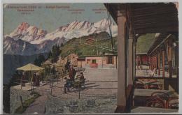 Stanserhorn (1900 M) Hotel-Terrasse - Photoglob No. 02999 - NW Nidwalden